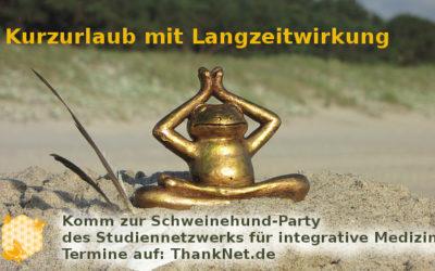 Kurzurlaub mit Langzeitwirkung – Schweinehund-Party